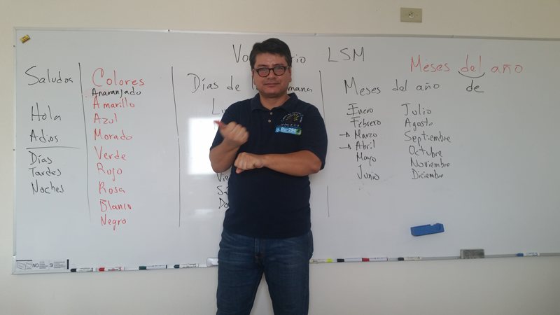 Curso Básico de la Lengua de Señas Mexicana.